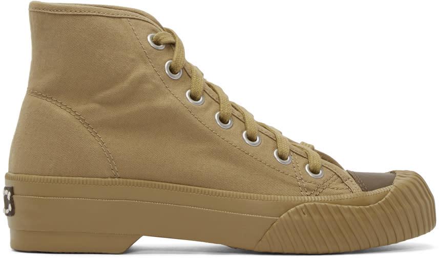 Visvim Khaki Kiefer P.e. High-top Sneakers