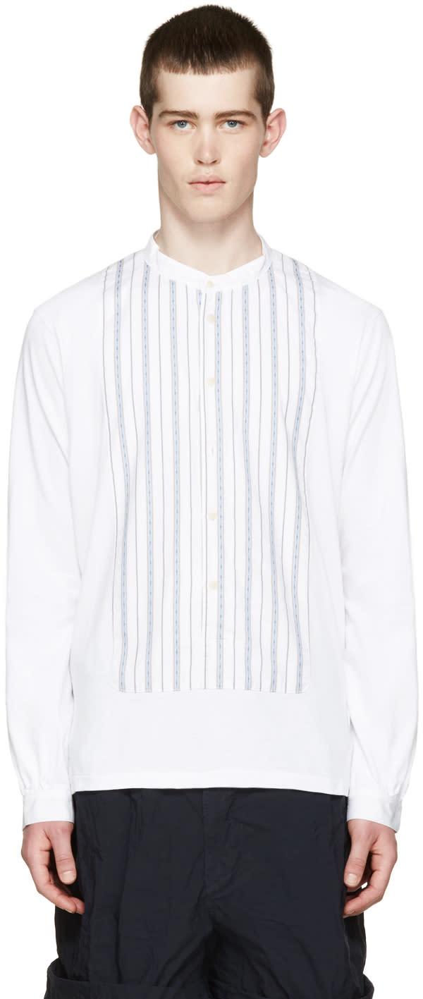 Visvim White Marcella Jurta Shirt