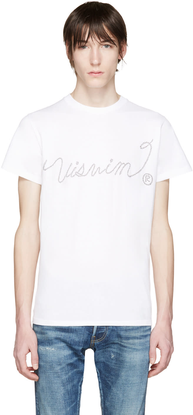 Visvim White Vintage Sketch T-shirt