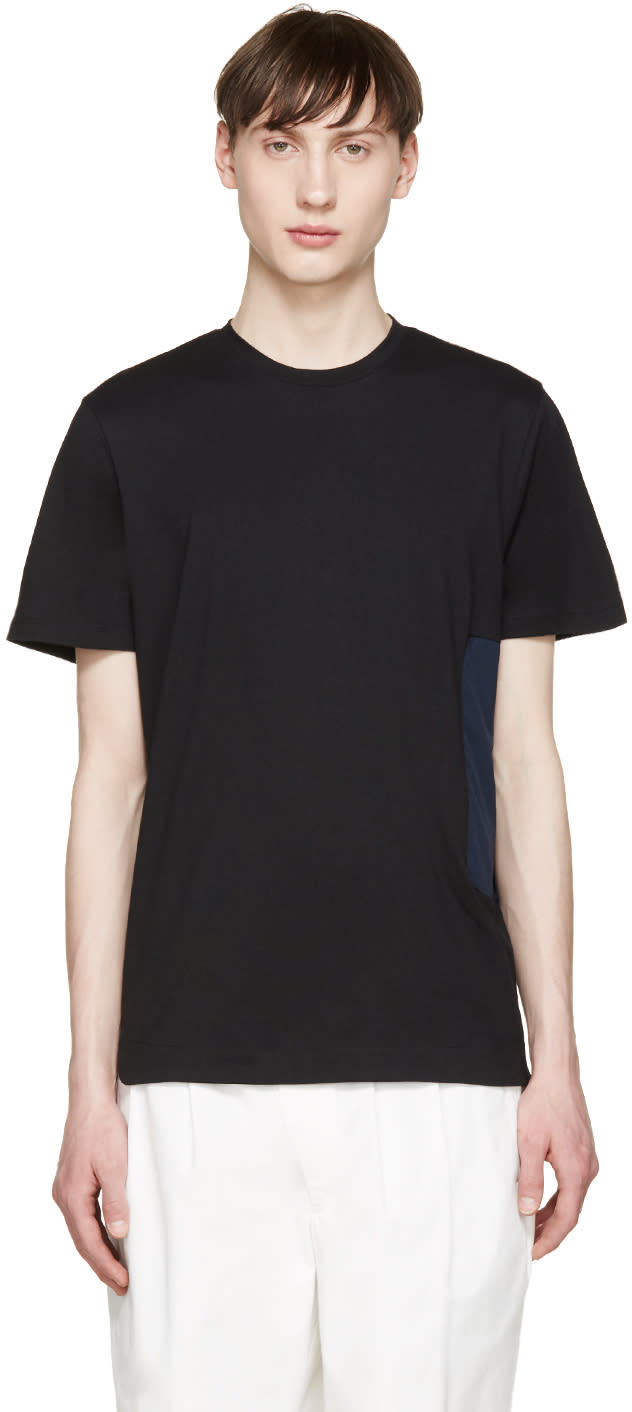 Tim Coppens Black and Navy Pocket T-shirt