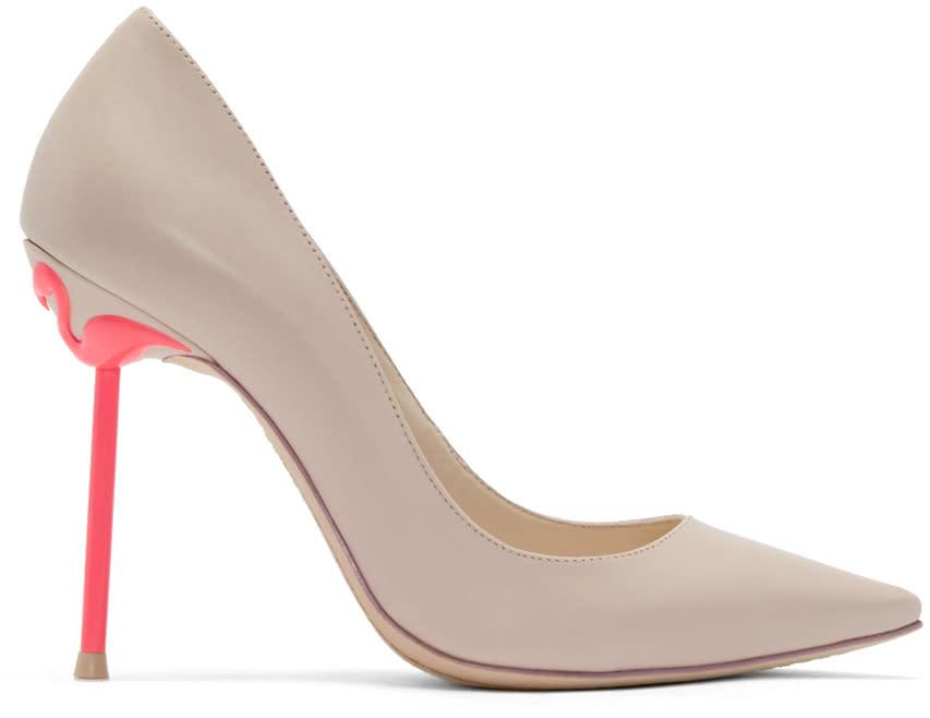 Sophia Webster Pink Coco Flamingo Pumps