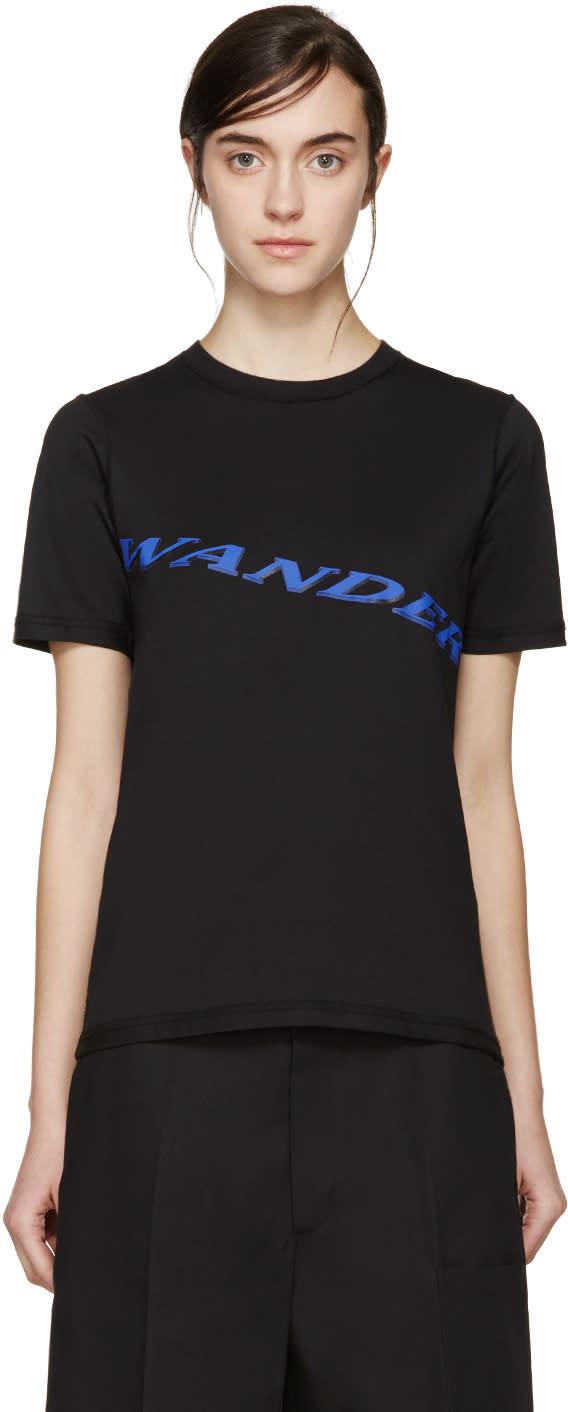 Yang Li Black wander T-shirt