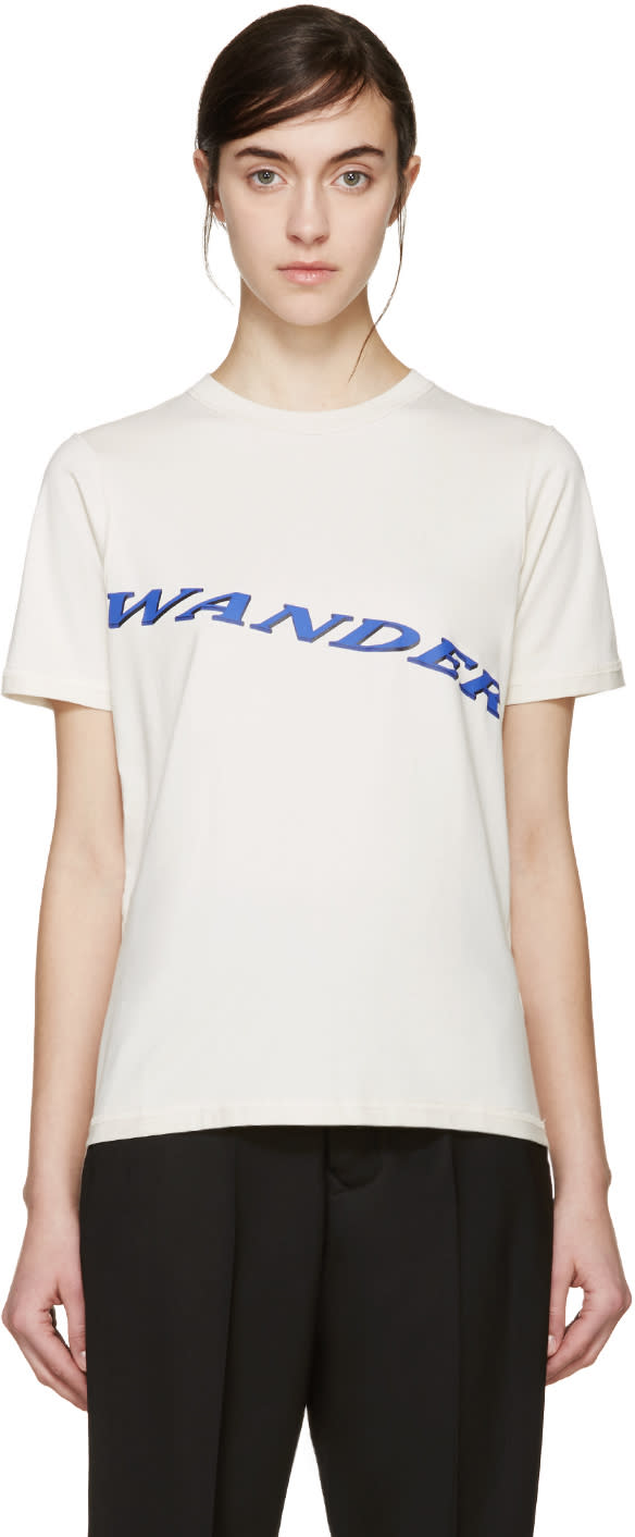 Yang Li Beige wander T-shirt