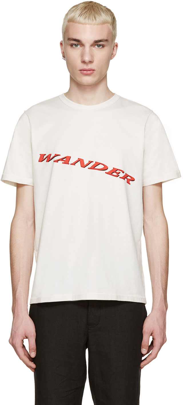 Yang Li Off-white wander T-shirt