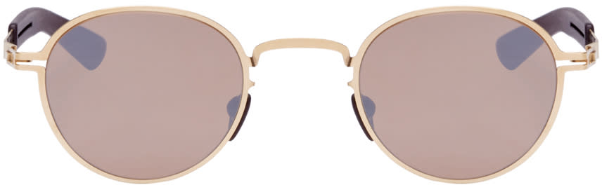 Mykita Gold Quince Sunglasses