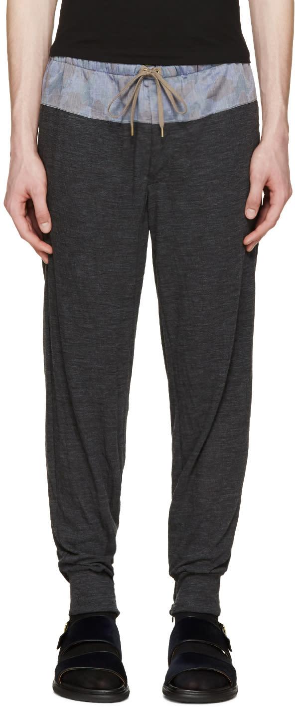 Kolor Grey Contrast Lounge Pants