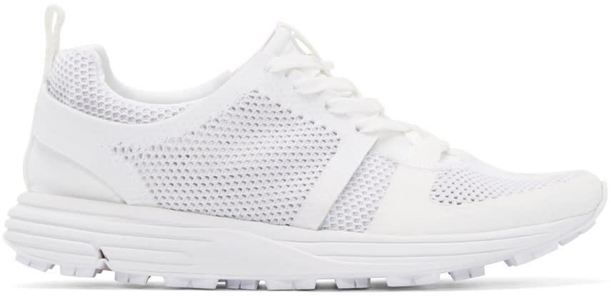 Marcelo Burlon County Of Milan White Mesh Conchali Sneakers