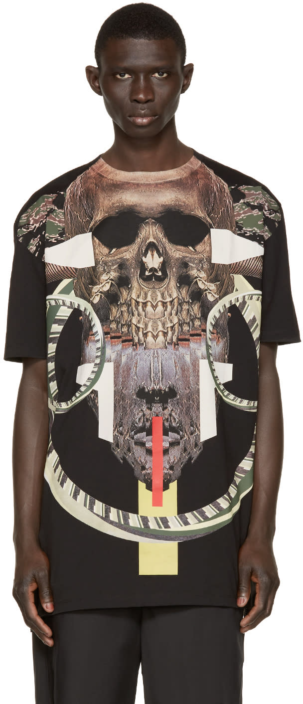 Marcelo Burlon County Of Milan Black Guanajay T-shirt
