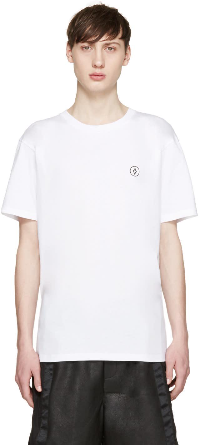 Marcelo Burlon County Of Milan White Staff T-shirt