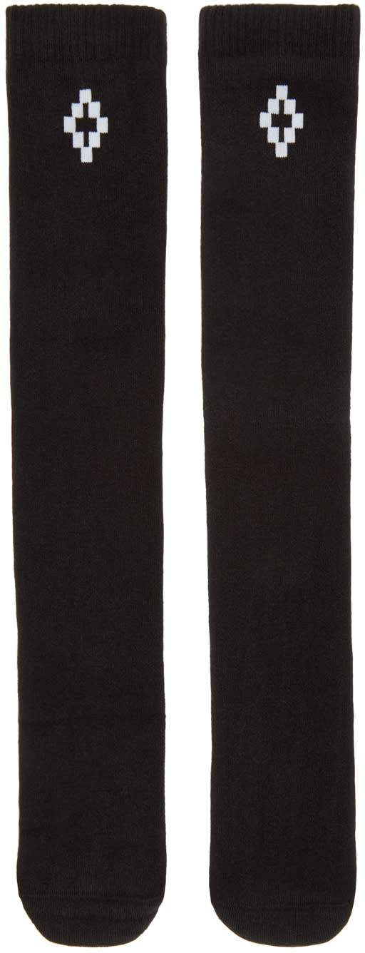 Marcelo Burlon County Of Milan Black Lamborghini Socks