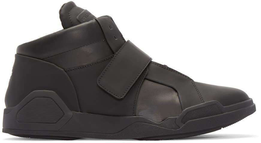 Marcelo Burlon County Of Milan Black Libertad Mid-top Sneakers