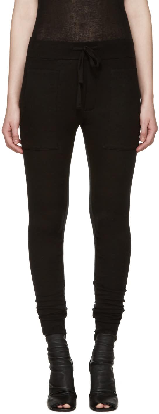 Haider Ackermann Black Montivipera Lounge Pants