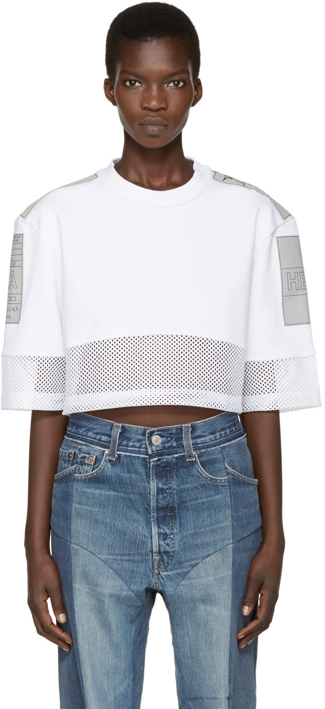 Hood By Air White Jock Boxes T-shirt