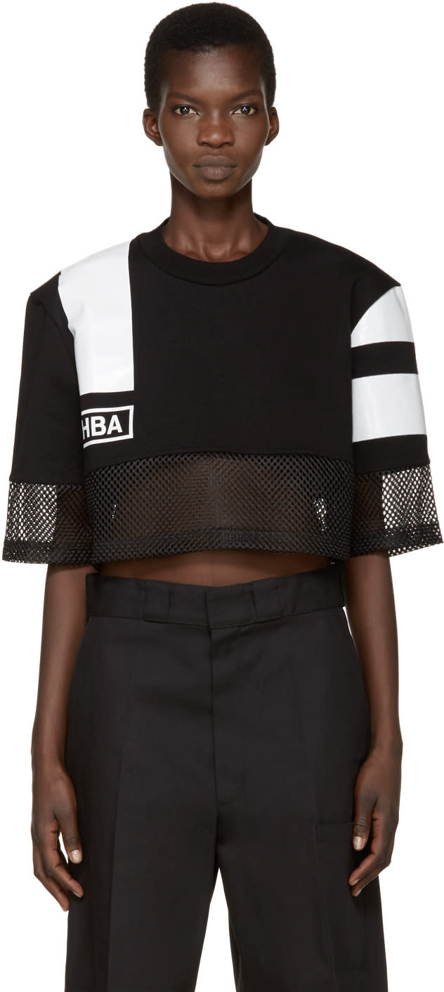Hood By Air Black and White Nothingness T-shirt