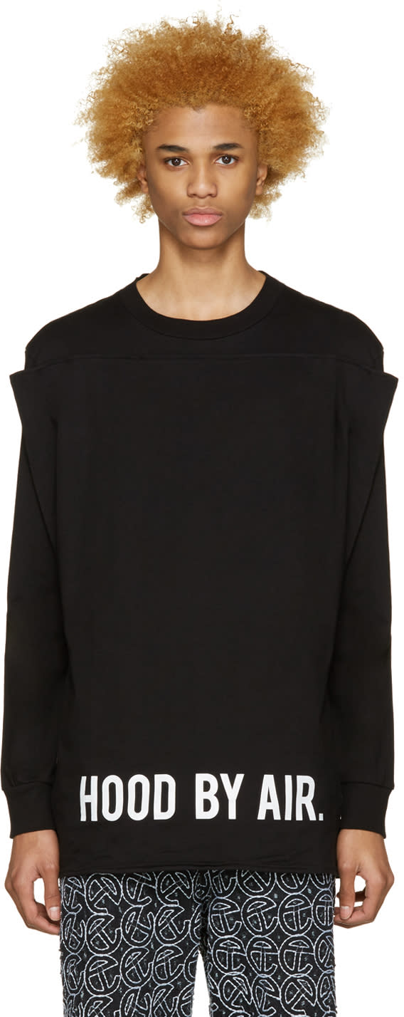 Hood By Air Black Squared T-shirt