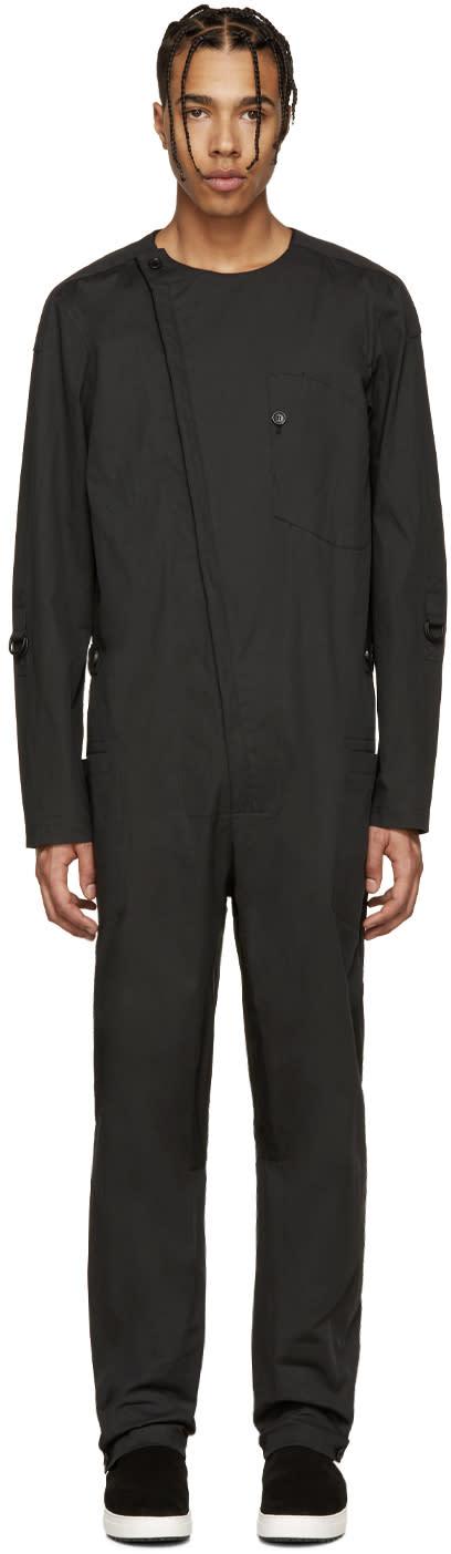 Alexandre Plokhov Black Cotton Jumpsuit