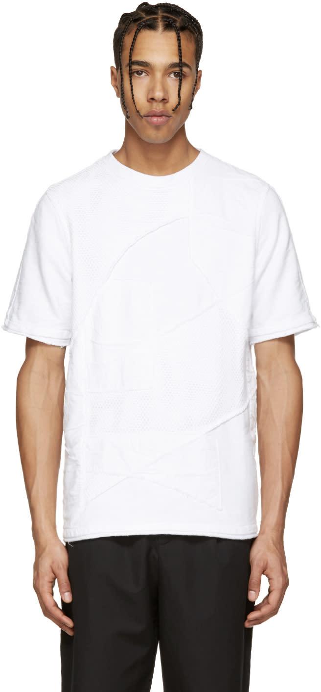 Alexandre Plokhov White Patchwork Pullover
