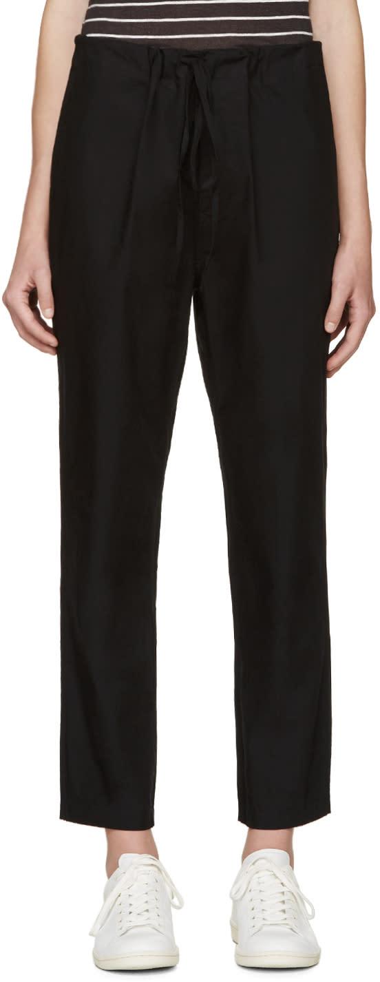 Isabel Marant Etoile Black Duson Lounge Pants