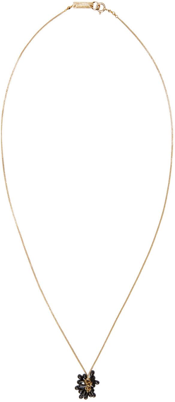 Isabel Marant Black Tanger Necklace