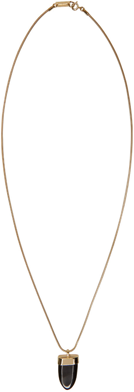 Isabel Marant Black Abou Necklace