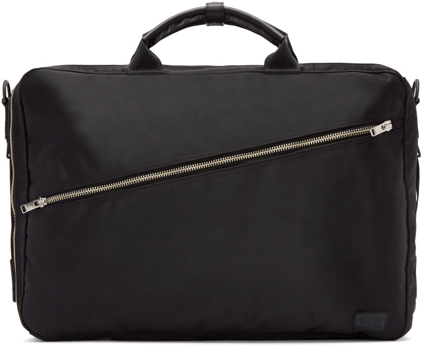 Porter Black Nylon Lift 3way Briefcase