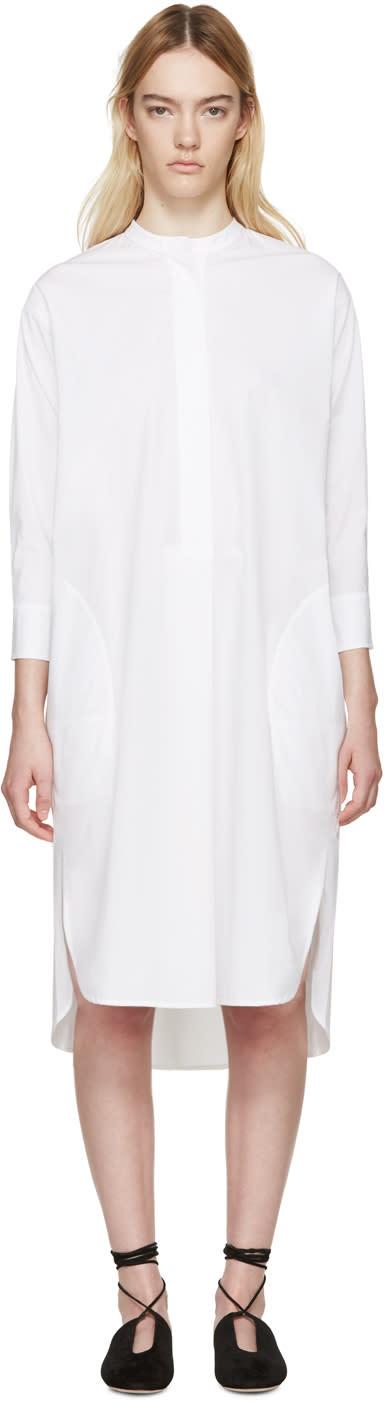 Studio Nicholson White Tito Shirt Dress