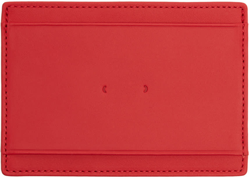 Pb 0110 Red Cm 9 Card Holder