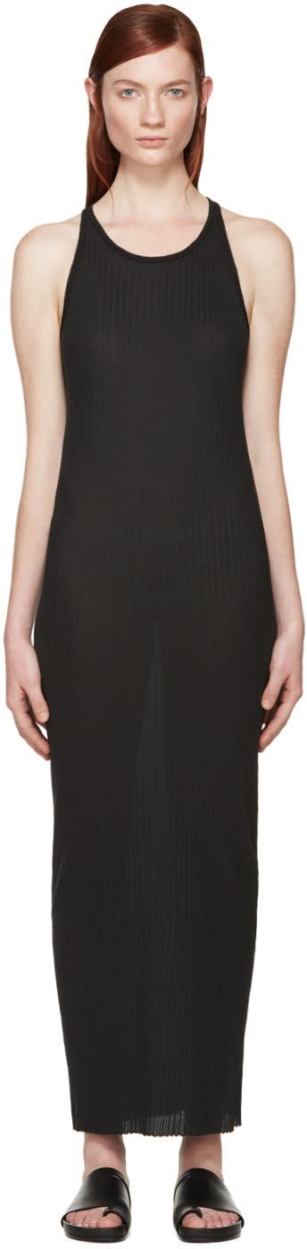 Boris Bidjan Saberi Black Jersey Dress