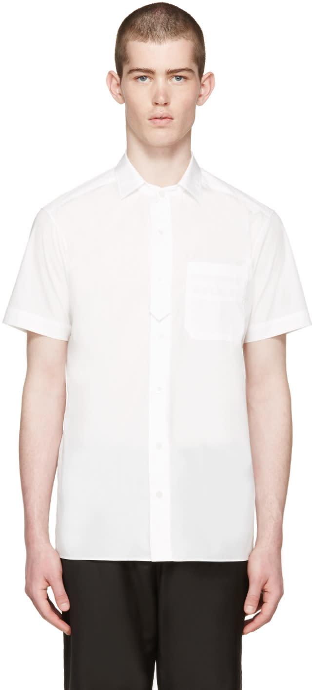 Undecorated Man White Poplin Shirt