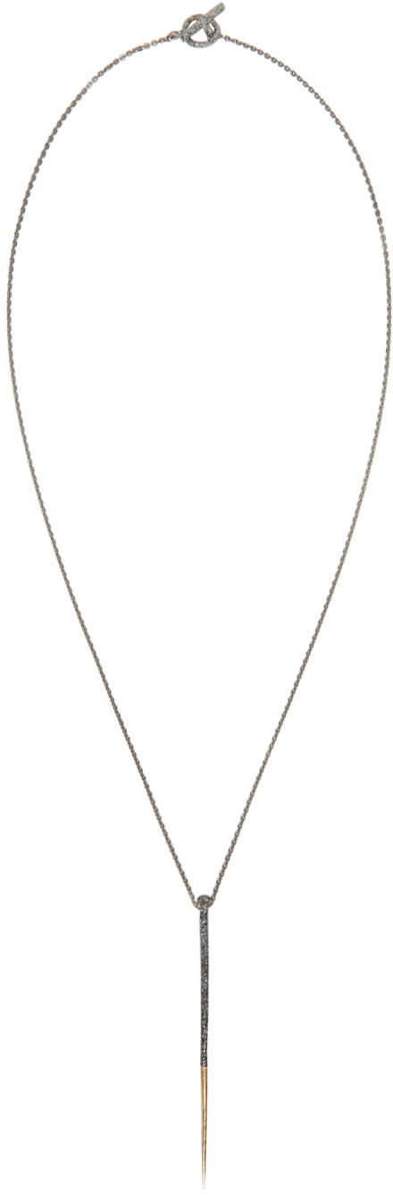 Pearls Before Swine Gold Forged Thorn Necklace
