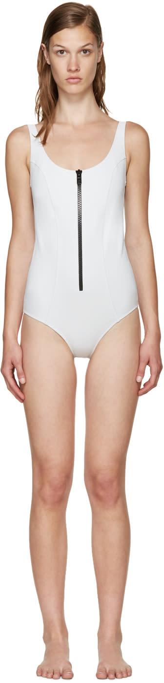 Lisa Marie Fernandez White Jasmine Swimsuit