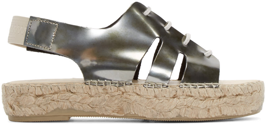 Prism Silver Palawan Sandals