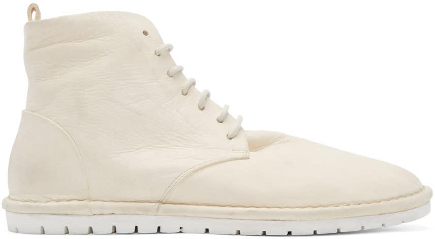 Marsell Gomma Cream Sancrispa Ankle Boots