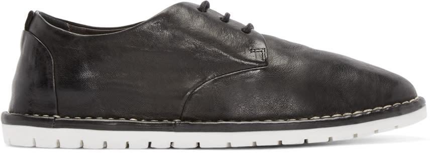 Marsèll Gomma Black Leather Derbys