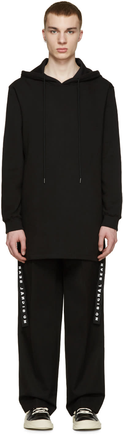 D By D Black Side Straps Hoodie