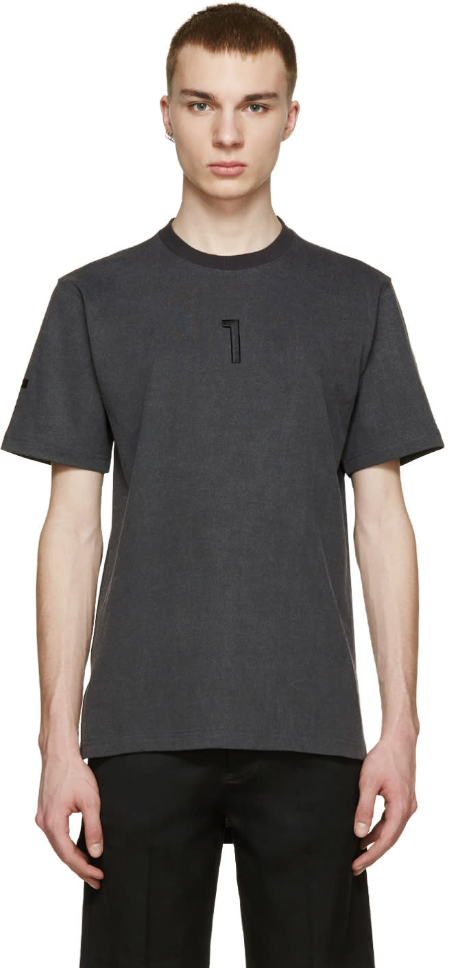 D By D Grey L1r T-shirt