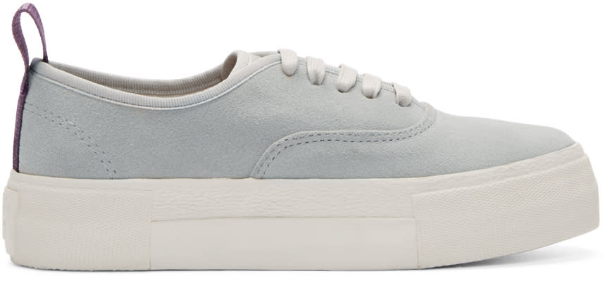 Eytys Grey Suede Mother Sneakers