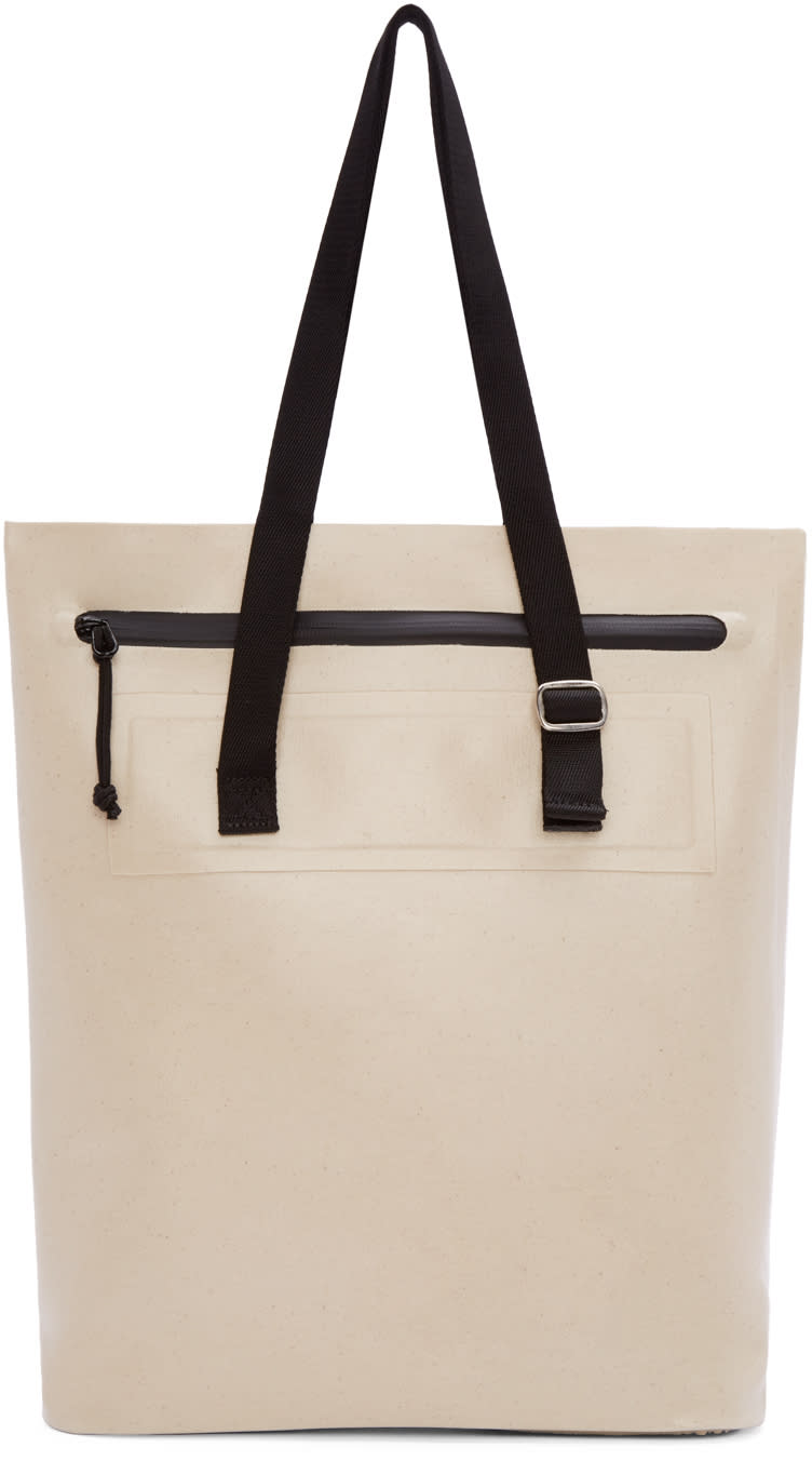Eytys Ecru Small Void Tote Bag