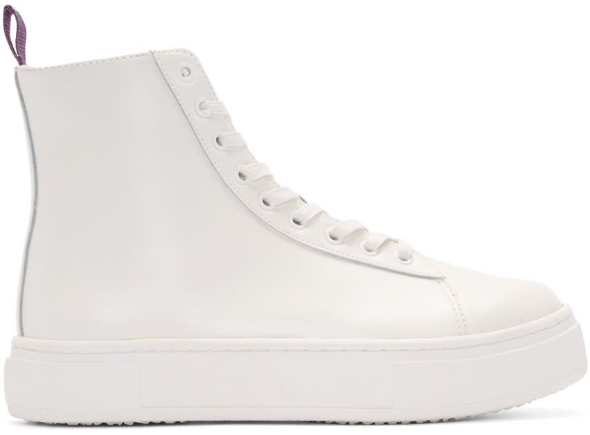 Eytys White Kibo High-top Sneakers