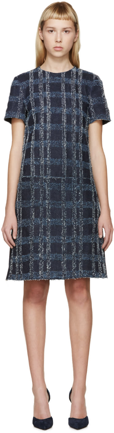 Erdem Indigo Denim Octavia Dress