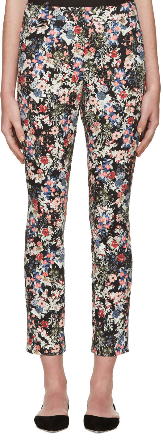 Erdem Multicolor Gloria Garden Sidney Trousers
