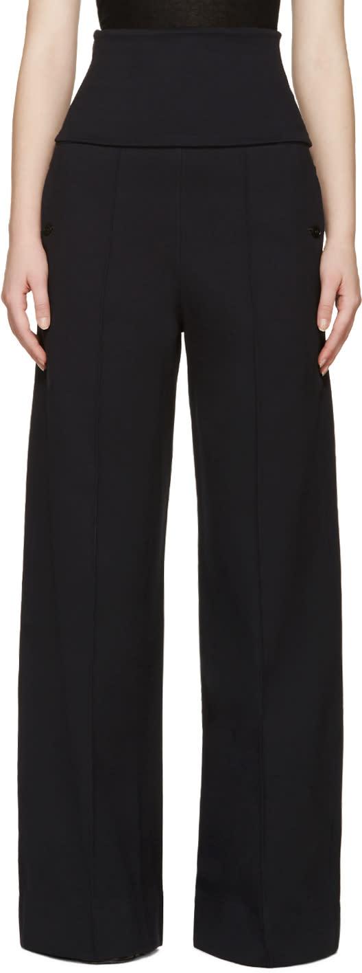 Lemaire Blue Wide-leg Lounge Pants