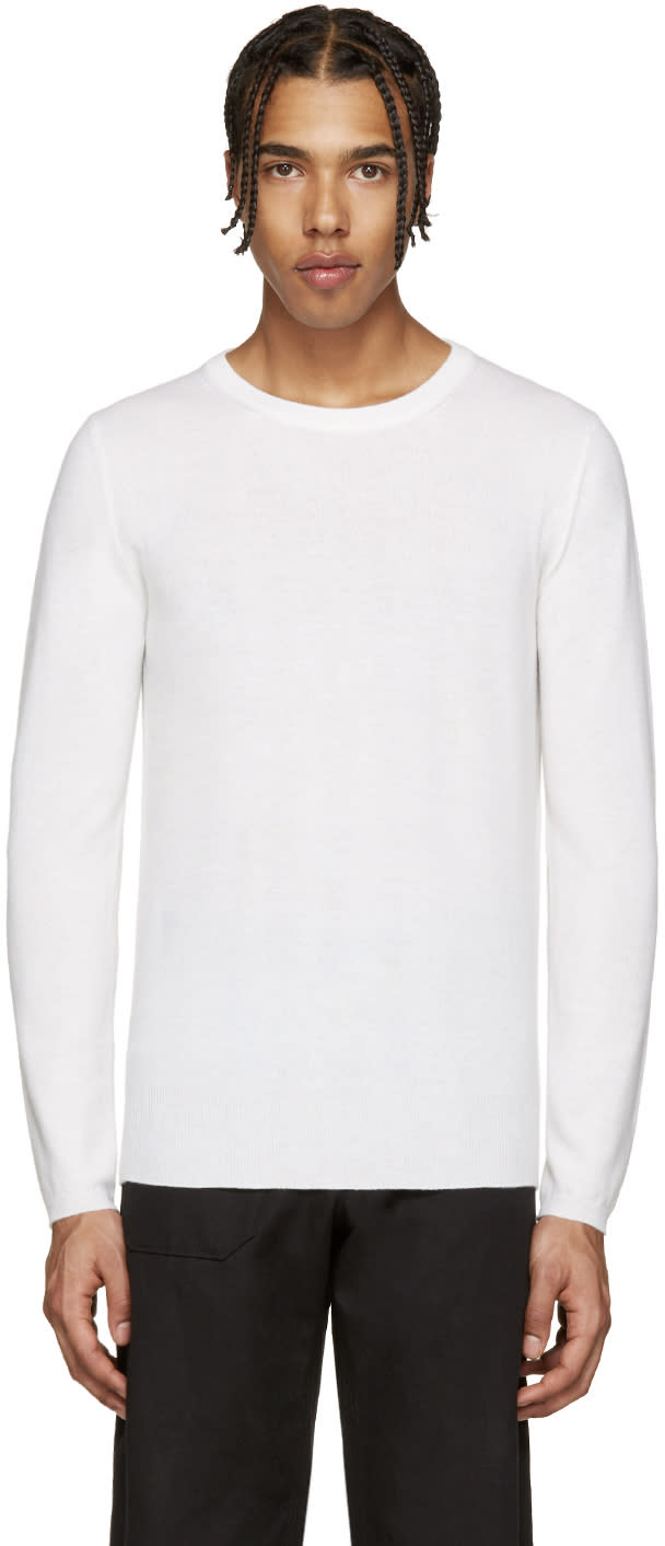 Lemaire Ivory Cashmere Sweater