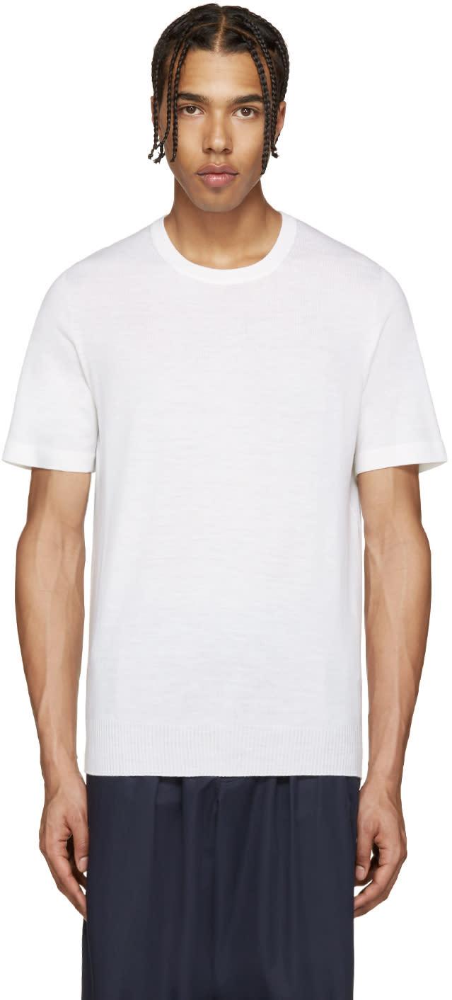 Lemaire Ivory Short Sleeve Sweater