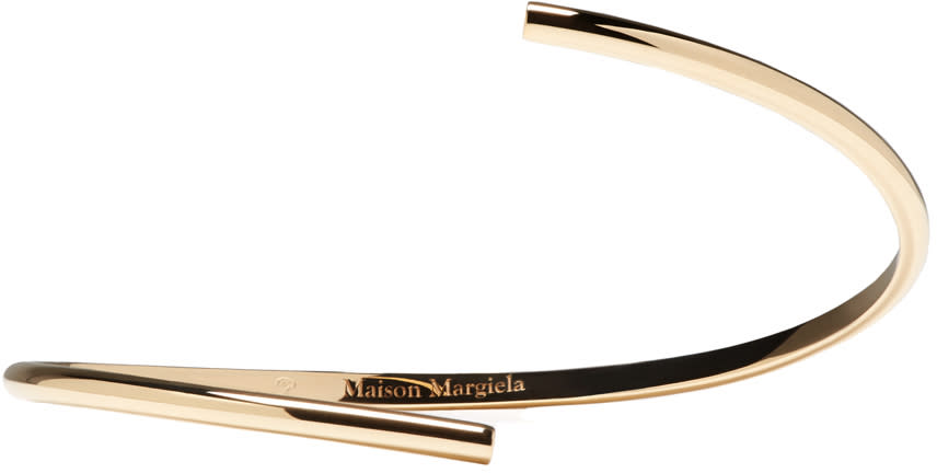 Maison Margiela Fine Jewellery Gold Split Alliance Bracelet
