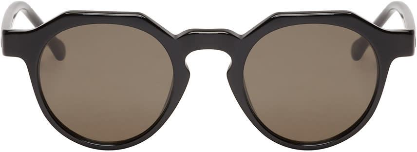 Loewe Black Geometric Tethys Sunglasses