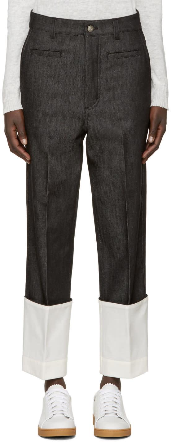 Loewe Black Fisherman Jeans