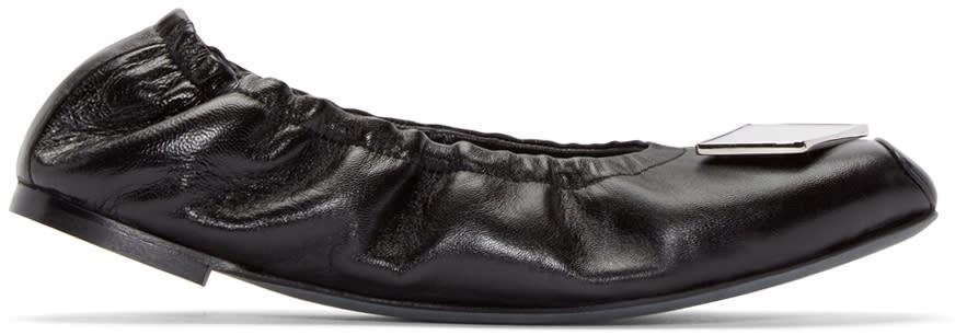 Loewe Black Mirror Ballerina Flats