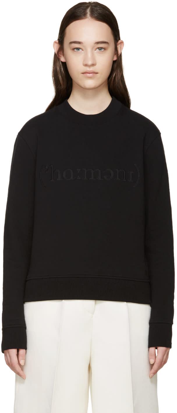 Harmony Black Logo Pullover
