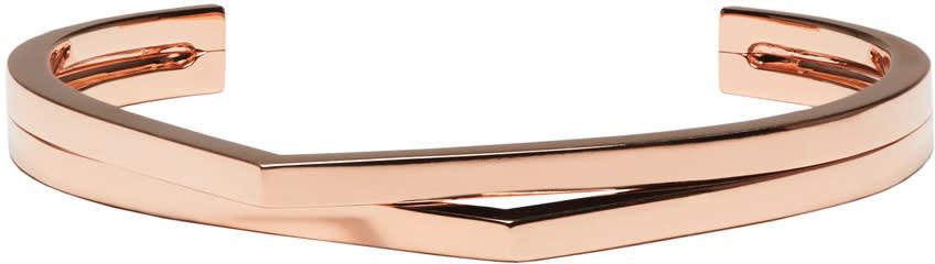 Image of Repossi Rose Gold 2 Rows Antifer Cuff